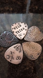 copper guitar picks 3